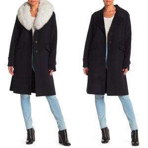 Derek Lam 10 Crosby Wool Blend Coat